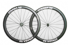 STRADA RR FULL CARBON  WHEELSET - SHIMANO FIT - VARIOUS DEPTH OPTIONS